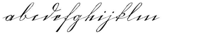 1880 Kurrentshrift Easy Font LOWERCASE