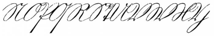 1880 Kurrentshrift Font UPPERCASE
