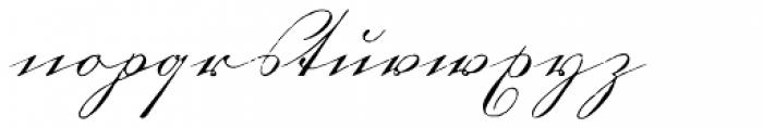 1880 Kurrentshrift Font LOWERCASE