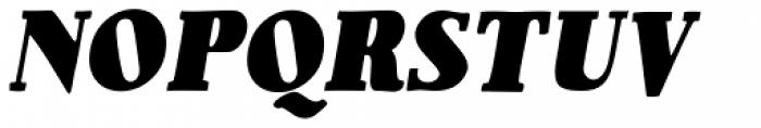 1890 Notice Italic Font UPPERCASE
