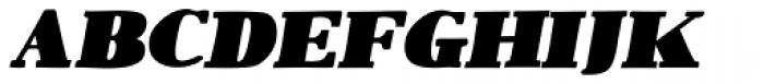 1890 Notice Italic Font LOWERCASE