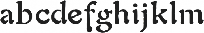 1906 Fantasio Auriol otf (700) Font LOWERCASE