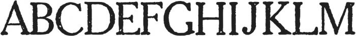 1906 French News otf (400) Font UPPERCASE