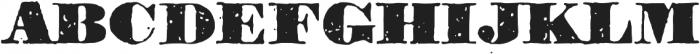 1906 Titrage otf (900) Font UPPERCASE