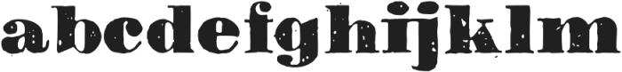 1906 Titrage otf (900) Font LOWERCASE