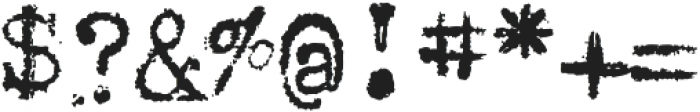 1913_Typewriter otf (400) Font OTHER CHARS