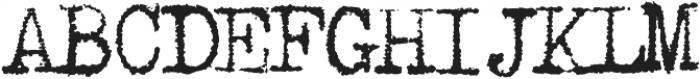 1913_Typewriter otf (400) Font UPPERCASE