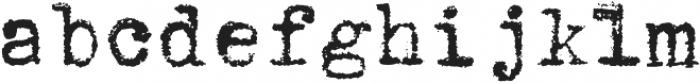 1913_Typewriter otf (400) Font LOWERCASE