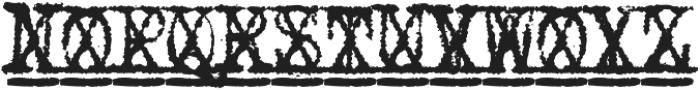 1913_Typewriter otf (700) Font UPPERCASE