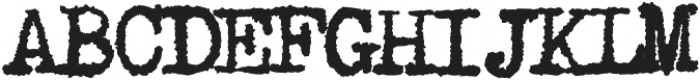 1913_TypewriterCarbon otf (400) Font UPPERCASE