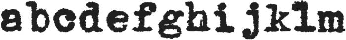 1913_TypewriterCarbon otf (400) Font LOWERCASE