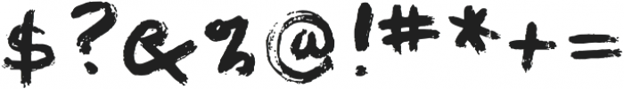 1968 GLC Graffiti otf (400) Font OTHER CHARS