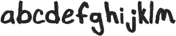 1985 Marker Black ttf (900) Font LOWERCASE