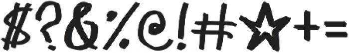 1985 Marker ttf (400) Font OTHER CHARS