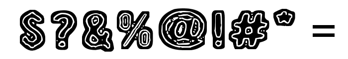19 000 paarmaa Font OTHER CHARS