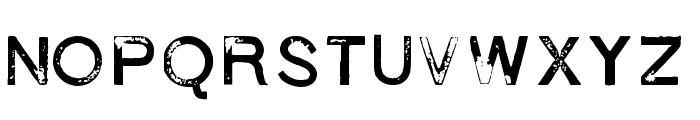 1938 STeMPEL Font UPPERCASE