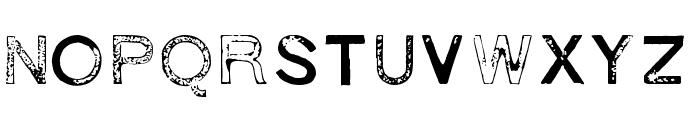1938 STeMPEL Font LOWERCASE