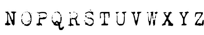 1942 report Font UPPERCASE