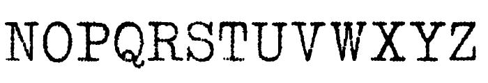 1952 RHEINMETALL Font UPPERCASE