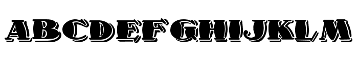 1998A Font LOWERCASE