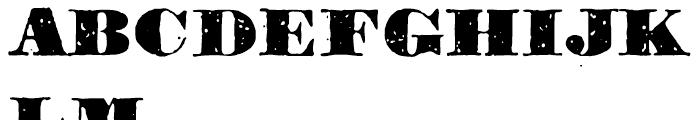 1906 Titrage Black Font UPPERCASE