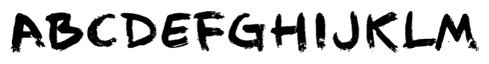 1968 GLC Graffiti Bold Font UPPERCASE