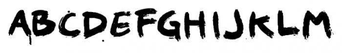 1968 GLC Graffiti Bold Font LOWERCASE