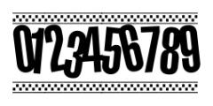 1980 Portable Regular Font OTHER CHARS