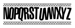 1980 Portable Regular Font UPPERCASE