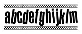 1980 Portable Regular Font LOWERCASE