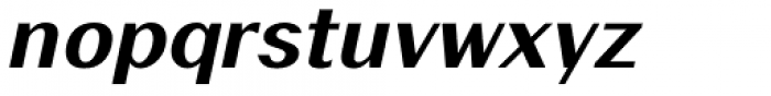19-PRA Demi Italic Font LOWERCASE