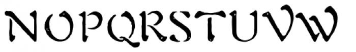 1906 Fantasio Auriol Normal Font UPPERCASE