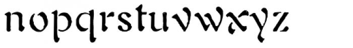 1906 Fantasio Auriol Normal Font LOWERCASE