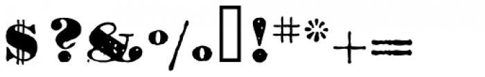 1906 Titrage Black Font OTHER CHARS