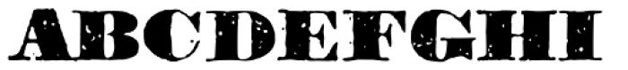 1906 Titrage SC Black Font UPPERCASE