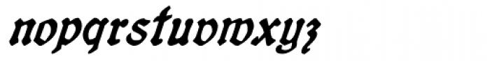 19th Century Retro Italic Font LOWERCASE