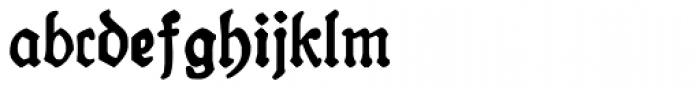 19th Century Retro Font LOWERCASE