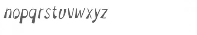 1952 font Font LOWERCASE