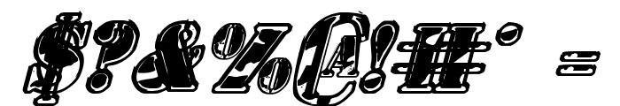 1st Cav II Italic Font OTHER CHARS