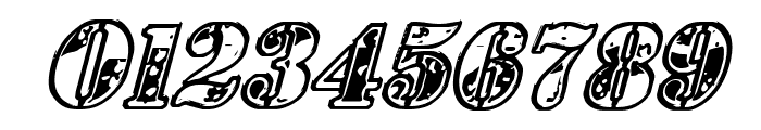 1st Cav Italic Font OTHER CHARS