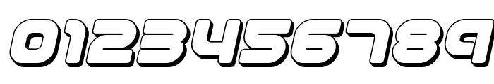 1st Enterprises 3D Italic Font OTHER CHARS