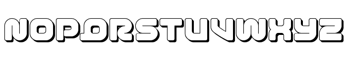 1st Enterprises 3D Font UPPERCASE