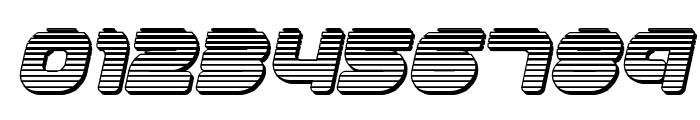 1st Enterprises Chrome Italic Font OTHER CHARS