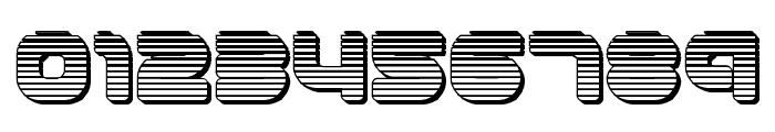 1st Enterprises Chrome Font OTHER CHARS