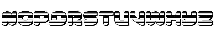 1st Enterprises Chrome Font UPPERCASE