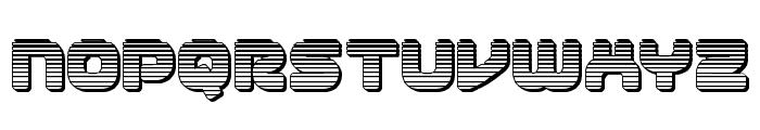1st Enterprises Chrome Font LOWERCASE
