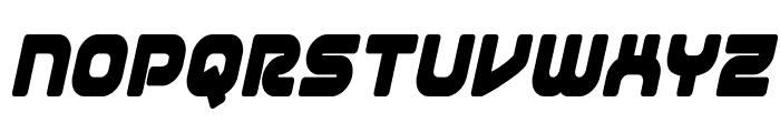 1st Enterprises Condensed Italic Font LOWERCASE