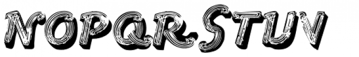 1st Ave Font UPPERCASE