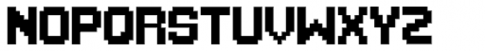 1up Font UPPERCASE