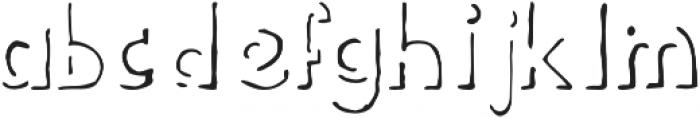 2 otf (400) Font LOWERCASE